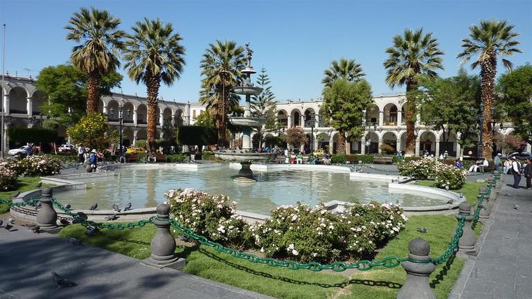 Plaza de Armas, Arequipa |© Cédric Liénart/Flickr