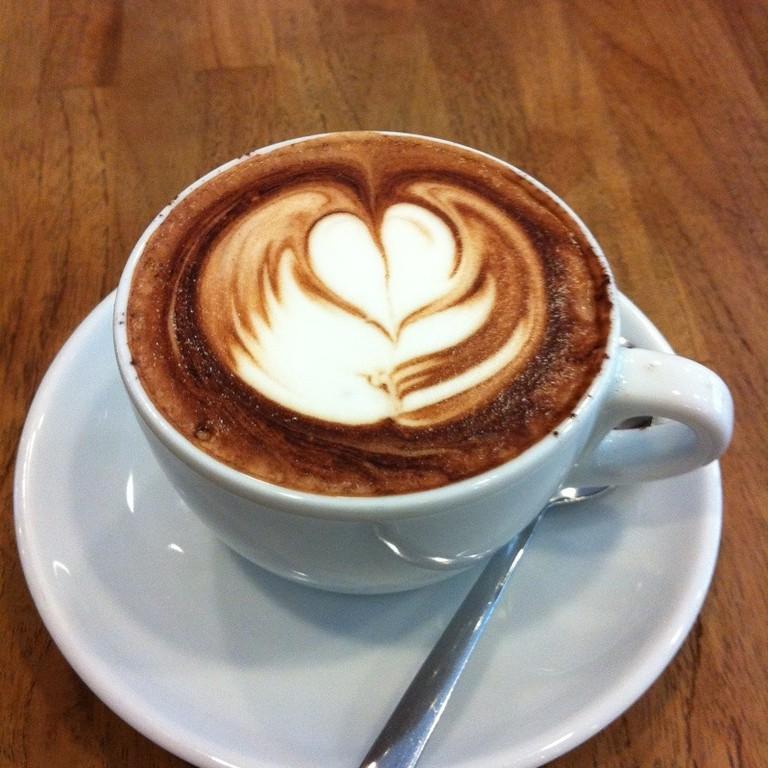 Mochaccino at Boréal Coffee Shop | ©Patrick Nouhailler