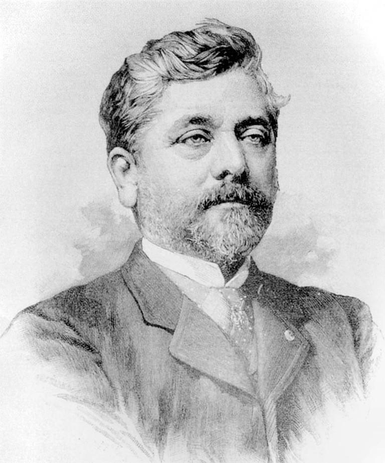 Gustave Alexandre Eiffel |© Wikimedia Commons