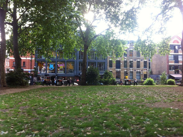 Hoxton Square, London ©Michael Sean Gallagher