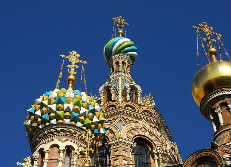 The Church of the Savior on Blood, St Petersburg