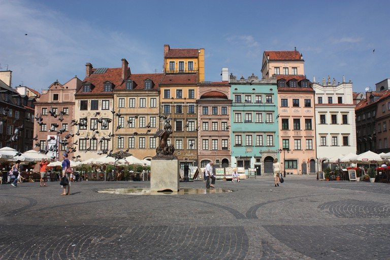 Warsaw, Old Town Square |© Arian Zwegers / Flickr
