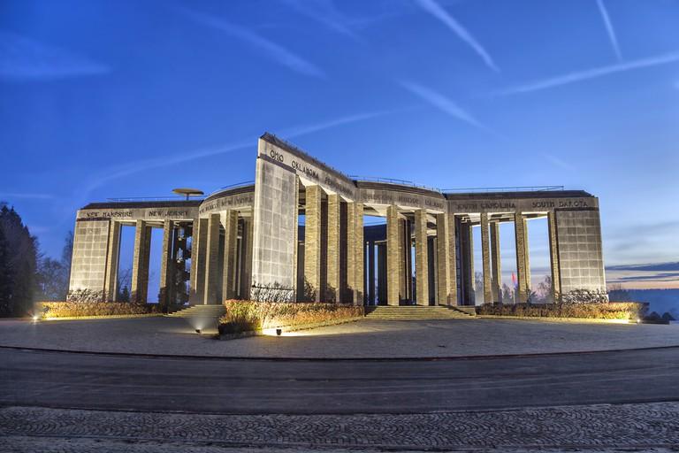 "World War II memorial ""Mardasson"" in Bastogne, Wallonia, Belgium ©Sergey Dzyuba / Shutterstock"