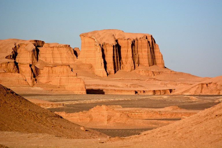 Dasht-e-Lut, Lut desert, hottest desert in the world, Iran | © Marcin Szymczak/Shutterstock