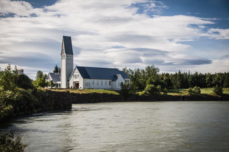 Church by the Ölfus River in Selfoss, Iceland | © John Stebbins Photography/Shutterstock