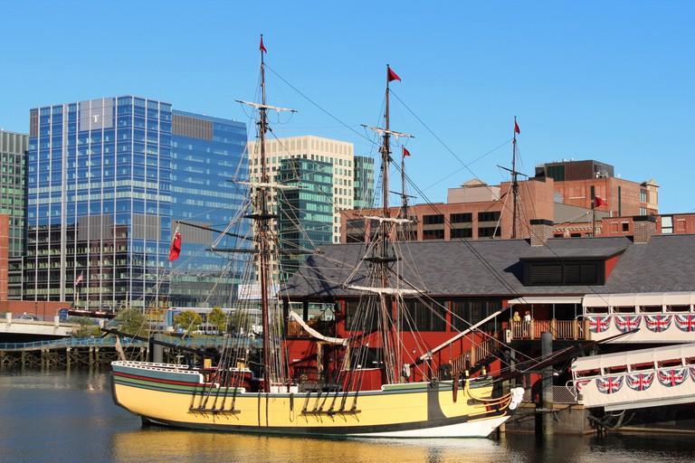 Boston Tea Party Ship & Museum| ©Robert Linsdell/Flickr