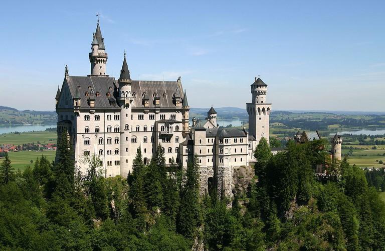 Castle Neuschwanstein | © Softeis/WikiCommons
