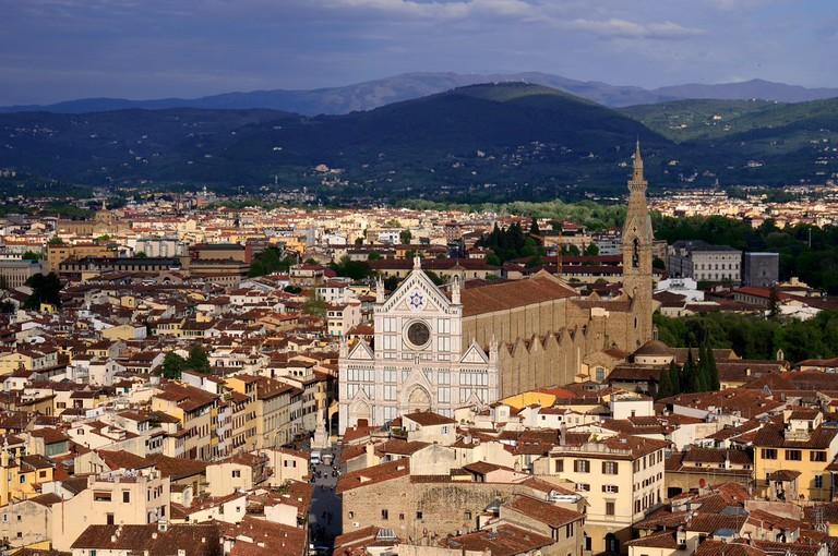 Santa Croce © étoiles filantes