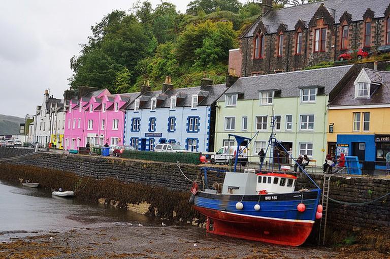 Portree Harbour |© Gitta Zahn/Flickr