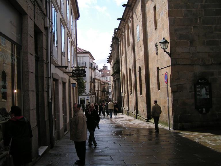 Rúa do Franco, Santiago |© Manel Zaera/Flickr