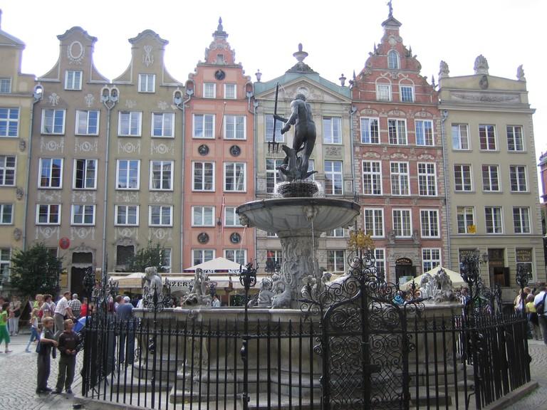 Neptune Fountain, Gdansk | ©JérémY/Flickr