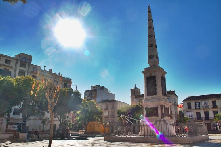 Plaza de la Merced, Malaga |© Gotardo González/Flickr