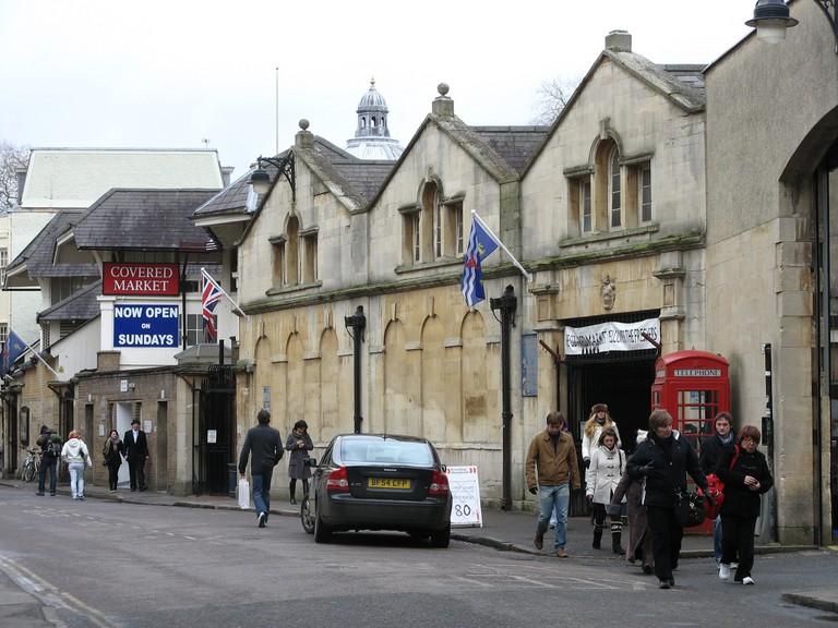 Covered Market, Oxford, United Kingdom © Flickr