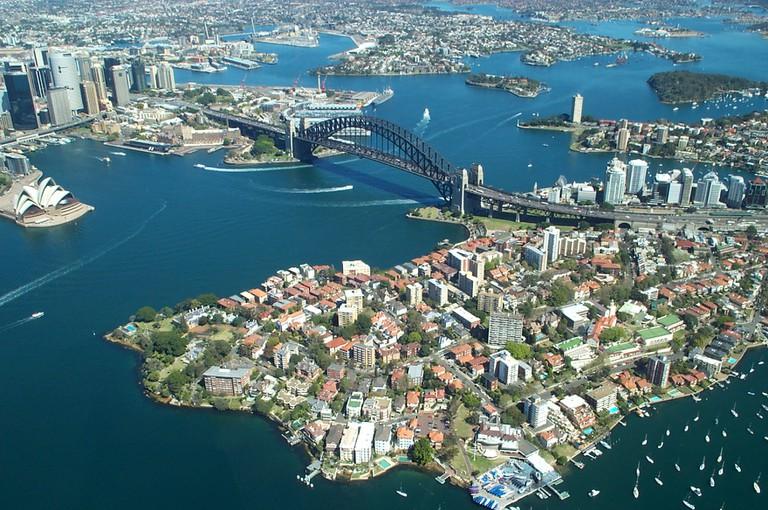 Sydney Harbour   ©  Duncan Hull/Flickr
