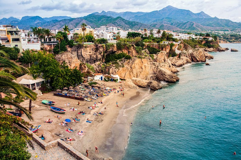 Nerja in Costa del Sol, Andalusia, Spain
