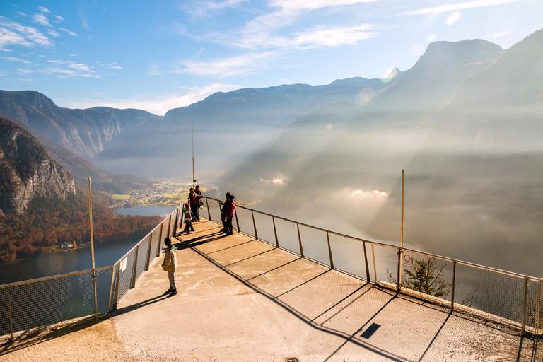 Hallstatt View Point at the Salt Mine   © Giantrabbit/Shutterstock