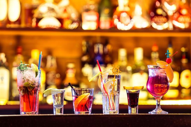 Selection of tropical cocktails| ©Goncharov_Artem/Shutterstock