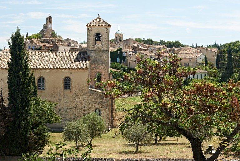 Ancient village of Lourmarin, France