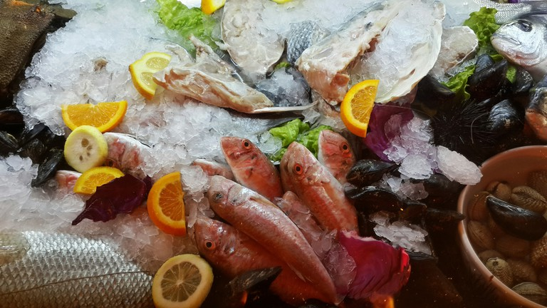 Fresh Seafood  © Vegim Zhitija/Flickr