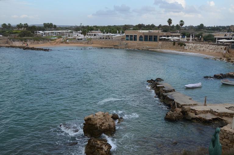 Herod's Royal Harbor   ©Carole Raddato/Flickr