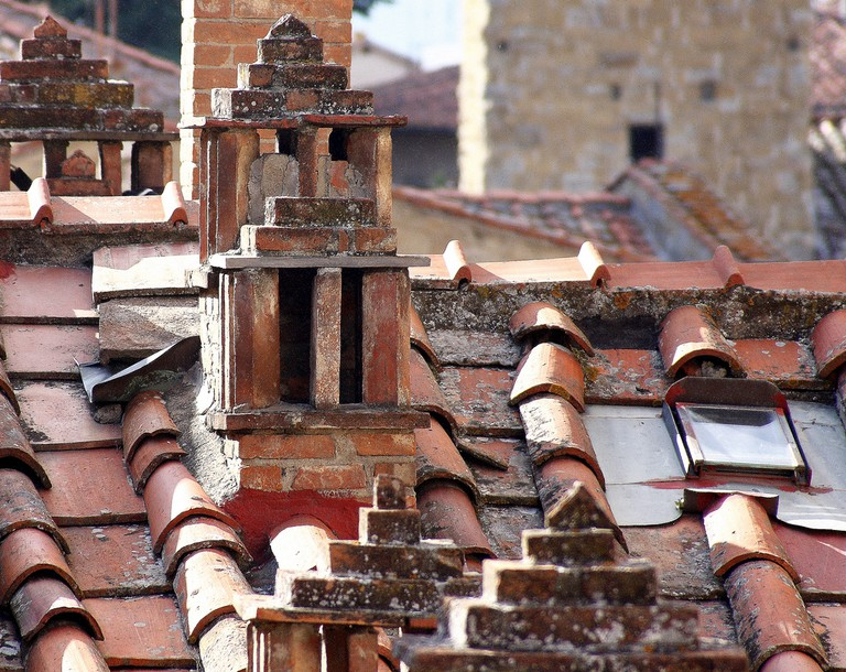 Roof detail in Arezzo