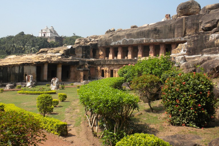 Udaygiri & Khandagiri Caves in Bhubaneswar |© Steve Browne & John Verkleir/Flickr