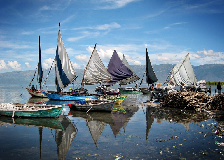 Fishing boats returning home ©Feed My Starving Children