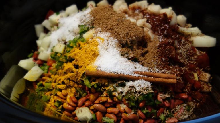 Punjabi curried beans |© emilee rader/Flickr