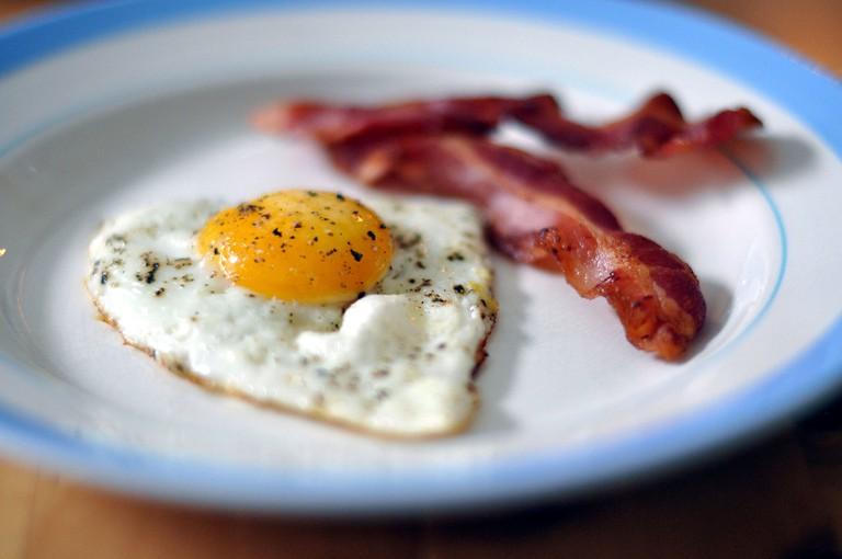 Bacon and Eggs | © cyclonebill/WikiCommons
