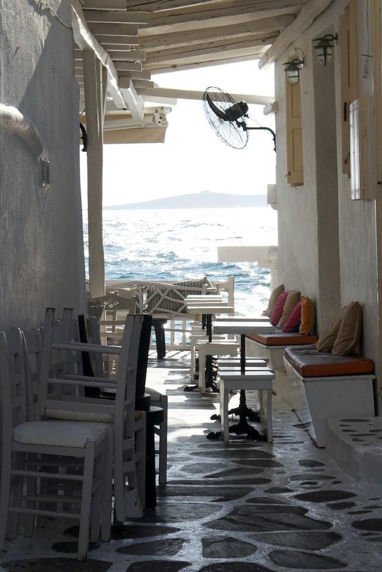 The Side Streets of Little Venice, Mykonos | © rpleven3 / Flickr