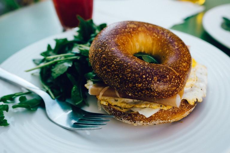 Breakfast Bagel / ©pexels