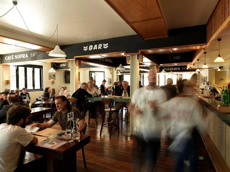 Café Sopra at Fratelli Fresh ©fratellifresh