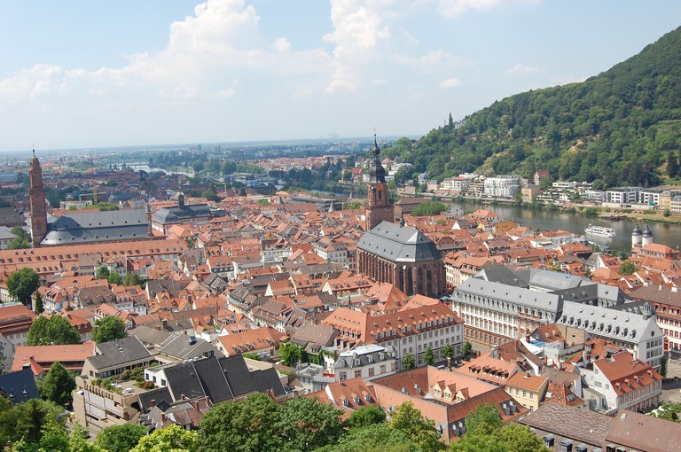 Heidelberg | © HelmutHohenstein/Pixabay