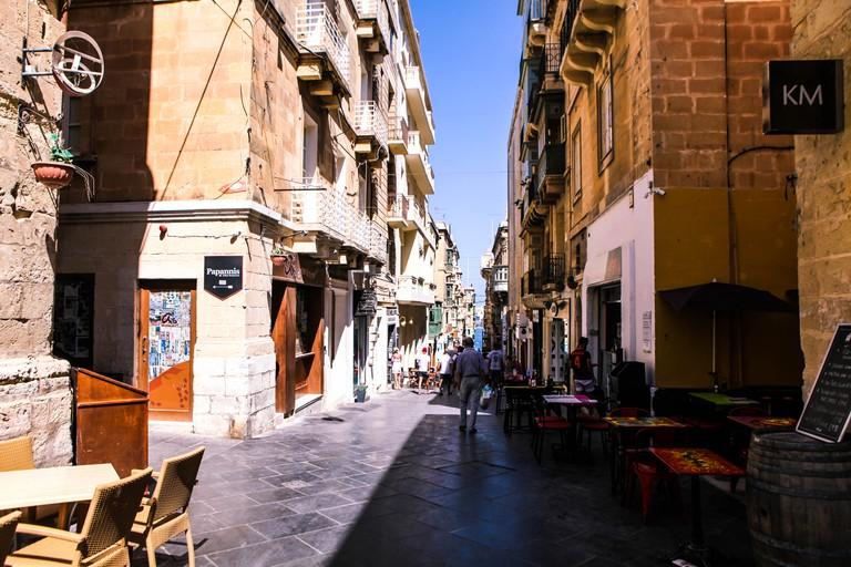 Tucked away in Valletta's backstreets is Culto © Shayne Fergusson