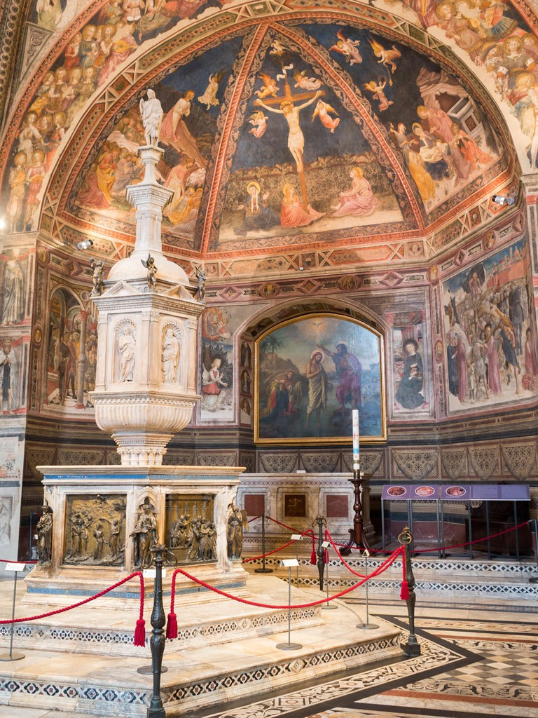 Baptistery of San Giovanni font, Siena