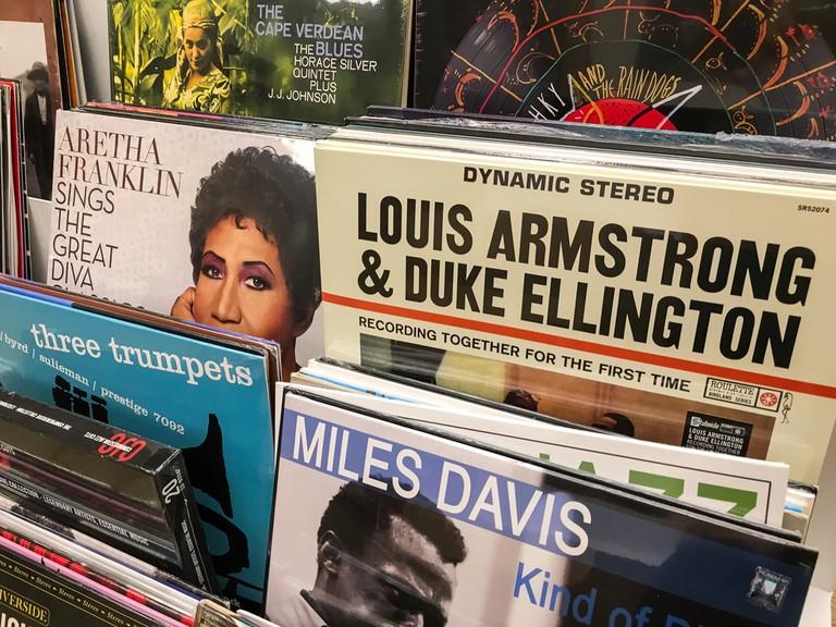 Record Store   © Radu Bercan/Shutterstock