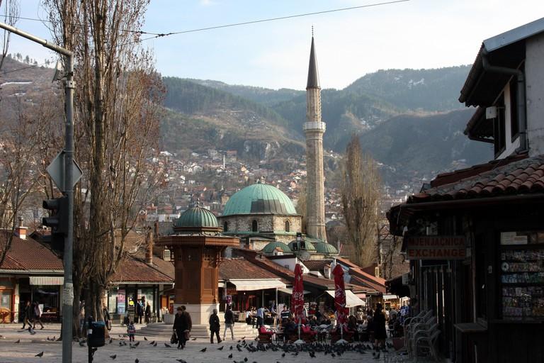 Sarajevo Old Town   ©Bryan Pocius/Flickr