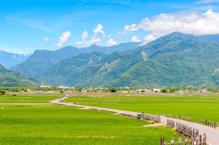 Heaven Road, Landscape of Chishang, Taitung | © Richie Chan/Shutterstock