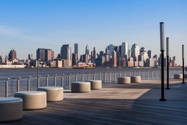 Manhattan skyline view from Hoboken waterfront, USA | © Samuel Borges Photography/Shutterstock