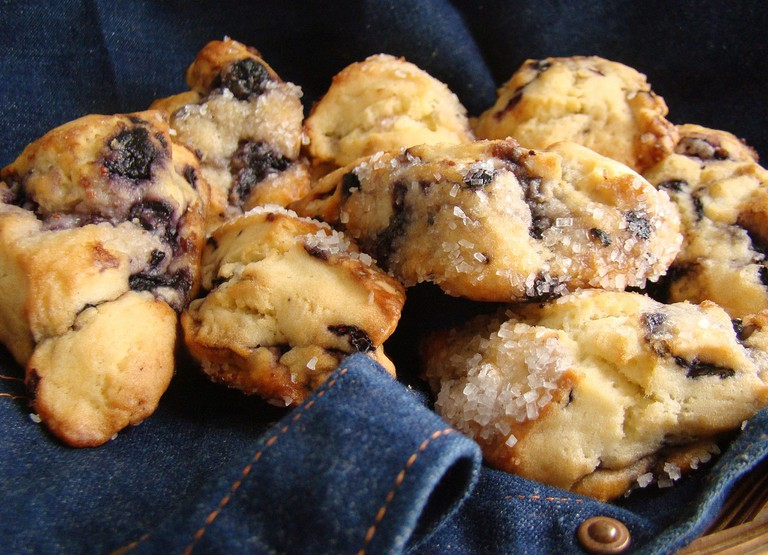 Blueberry Scones | © Vegan Feast Catering/WikiCommons