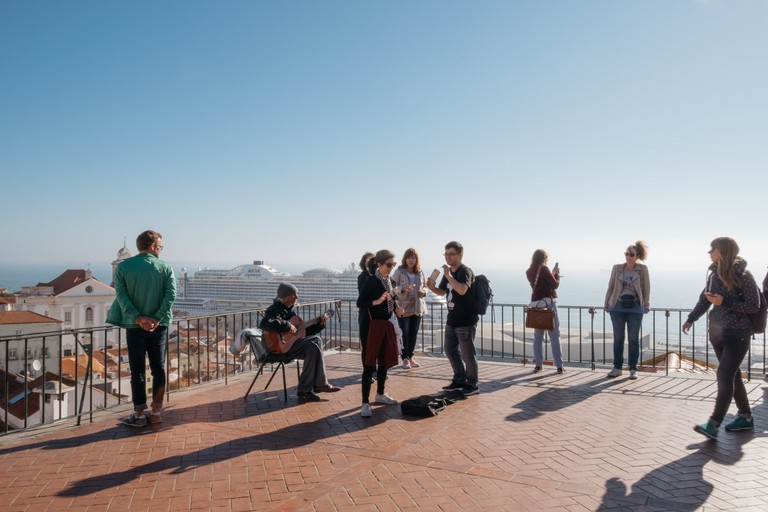 Watson - Portugal - Lisbon -Portas do Sol viewpoint, Alfama