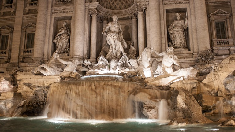 Trevi Fountain, Rome | ©Oliver Townend/Flickr