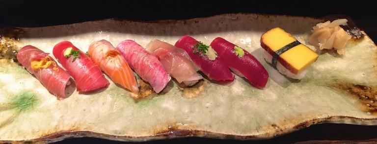 Omakase style sushi |© Sarah_Ackerman/Flickr