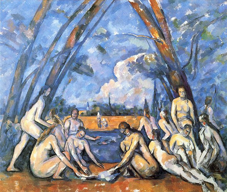 The Large Bathers | © Paul Cézanne / WikiCommons