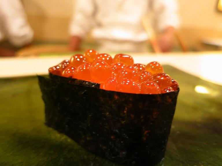 Sushi from Sukiyabashi Jiro |© Leon Brocard/Flickr