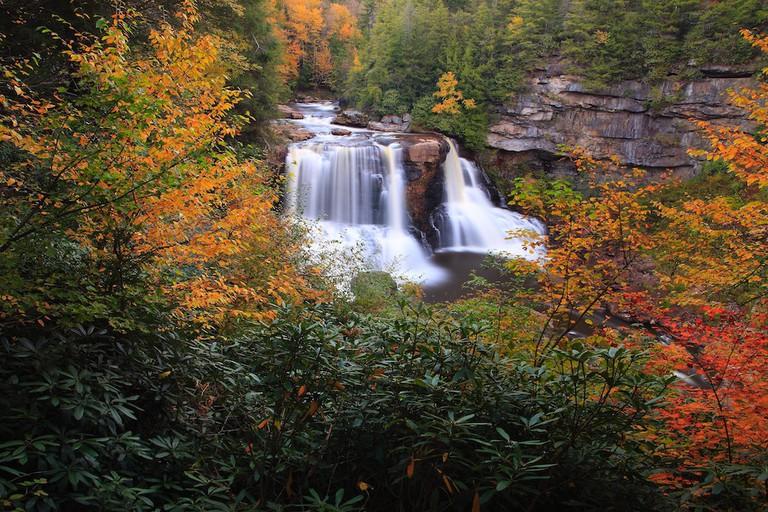 Blackwater Falls in West Virginia | © Forestwander.com