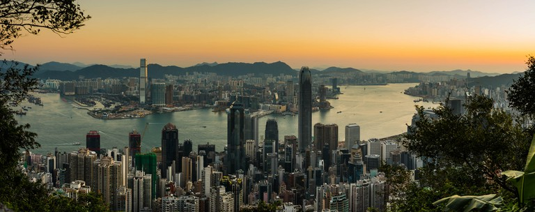 Sunrise Over Hong Kong | © Daxis/Flickr