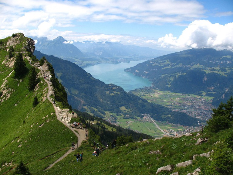 Hiking Trail, Interlaken | © Andrew Bossi/WikiCommons