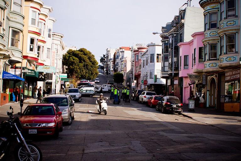 North Beach, San Francisco   © Alejandro De La Cruz/WikiCommons