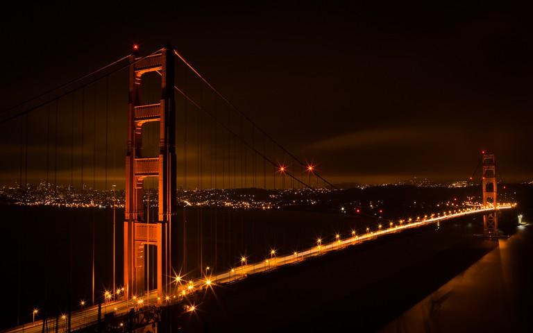 Golden Gate Bridge at Night | © (matt)/Flickr